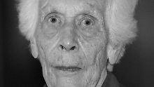 Freya von Moltke wurde 98 Jahre alt.