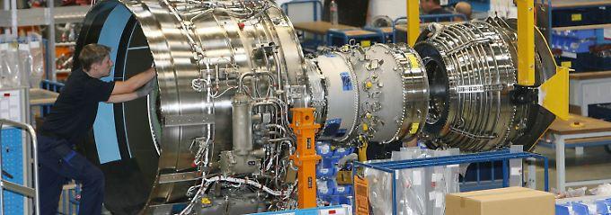 Produktion bei Rolls-Royce im brandenburgischen Dahlewitz.