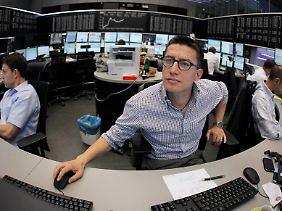 Die europäische Schuldenkrise sorgt an der Börse für Gesprächsstoff.
