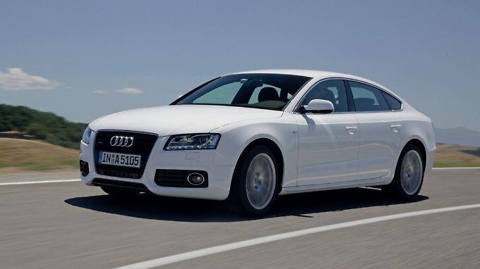 Platz gibt es im Audi A5 nicht wirklich viel. Dafür ist der Wagen aber klassisch schön.