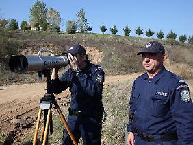 Die Agentur Frontex überwacht Europas Grenzen. Auch mit Hilfe deutscher Steuergelder.