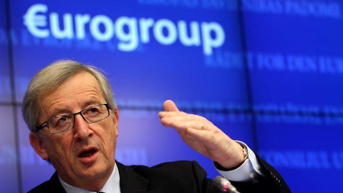 """""""Innenpolitik in Sachen Eurofragen"""": Juncker weist Deutschland scharf zurecht"""