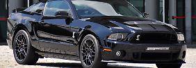 Für Vortrieb sorgt im Shelby ein 5,8 Liter großer V8-Benziner mit 650 PS.