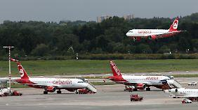 Streichkonzert bei Air Berlin: Tausende Flugverbindungen gekappt