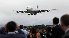 Farnborough Air Show: Düsen, Jets und Überflieger