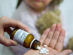Die Wirkung der alternativmedizinischen Präparate von Mineralsalzen ist nicht wissenschaftlich gesichert.