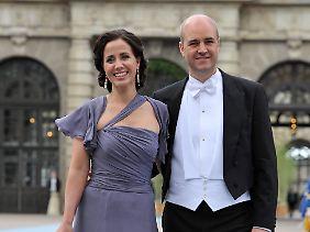Das Ehepaar Reinfeldt in glücklicheren Tagen.