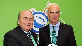 War die WM 2006 gekauft?: DFB dementiert Blatter-Vorwurf