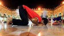 Ramadan für Muslime in aller Welt: Schlemmen im Fastenmonat