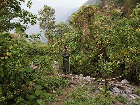 Ranger im Virunga-Nationalpark.