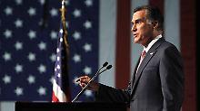 Mitt Romney sparte mit konkreten Ankündigungen.