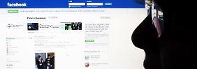 """Fast 108.000 Facebook-Mitglieder haben auf der Seite der Polizei Hannover den """"Gefällt mir""""-Button gedrückt."""