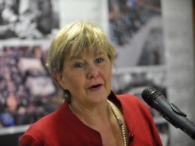 Marianne Birthler scheidet aus dem Amt.