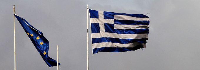 """""""Ein weitaus stärkerer Schock als die Lehman-Krise"""": Die Allianz sieht Deutschland an das griechische Schicksal gebunden."""