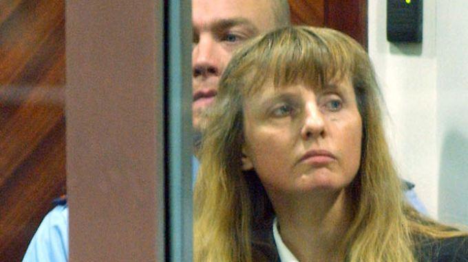 Michelle Martin während einer Gerichtsverhandlung im Jahr 2004.