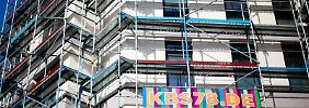 Bau von Eigentumswohnungen im Berliner Stadtteil Kreuzberg: Die Immobilienpreise steigen besonders in den deutschen Metropolen.