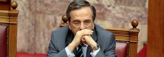 Der griechische Premier Antonis Samaras.