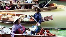 Zugeschüttete Tradition: Schwimmende Märkte in Thailand