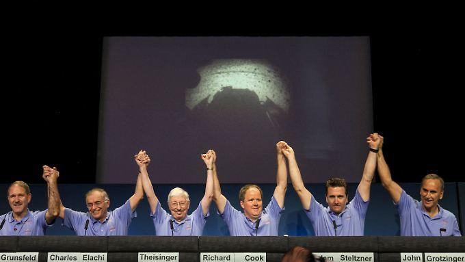 Die Nasa schreibt am 6. August 2012 Geschichte.