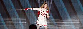 Madonna in Moskau.