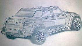Befeuert wird das Power-SUV von einem 650 PS starken AMG-Motor.