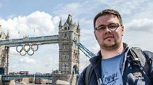 Michael Fischer besuchte seine Freundin in London. Wenige Tage später reiste sie ab.