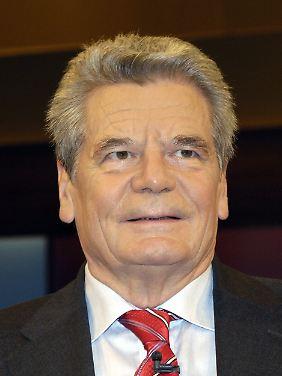 Vor der Wende war Gauck Pfarrer.