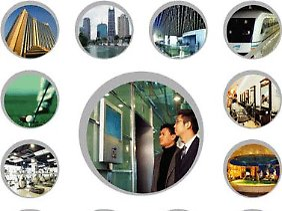 Werbung mit großer Reichweite: Namhafte Firmen zählen zum Kundenkreis.