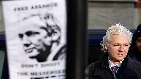 Diplomatische Krise in London: Alle wollen Assange