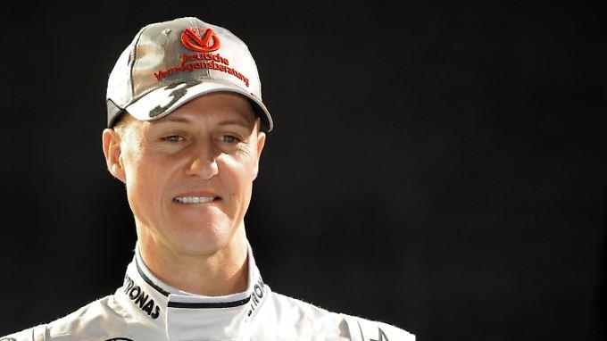 """""""Ich werde nicht hinterherfahren. Ganz sicher"""": Michael Schumacher."""