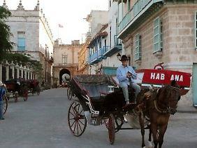 In der Altstadt gibt es die meisten Spuren in Havanna, an denen Deutsche lebten und arbeiteten.