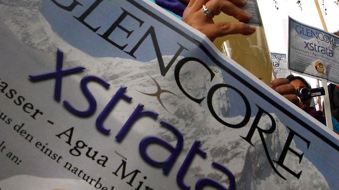 """Glencore arbeitet nachwie vor an der """"Fusion auf Augenhöhe"""" mit Xstrata."""