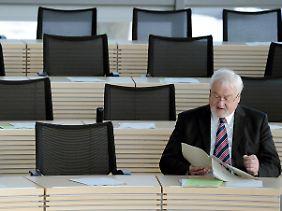 Ministerpräsident Carstensen bekommt offenbar ein großes Problem.