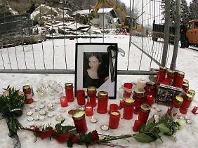 Die 18 Jahre alte Sophie wurde von den Felsmassen getötet.
