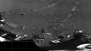 Curiosity fotografiert sich: Mars-Rover schickt Bilder zur Erde