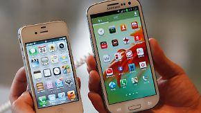 Patentstreit - Sieg für Apple: Samsung muss Milliardenstrafe zahlen