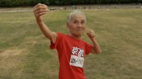 Hundertjähriger Sprinter: Japaner trotzt dem Alter