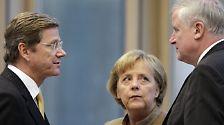 """Zitate aus 100 Tagen Schwarz-Gelb: """"Seit 2.15 Uhr sagen wir Horst und Guido zueinander"""""""