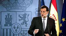 Mariano Rajoy will die Zinsen der Euro-Staaten aneinander angleichen.