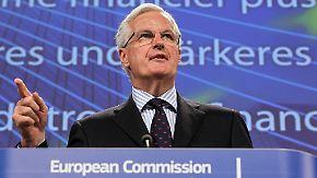 Obergrenze für Banker-Boni: EU-Kommissar Barnier ist dagegen
