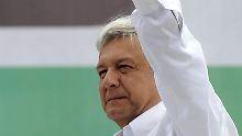 López Obrador gibt nicht auf: Den Sieg seines Rivalen in der Präsidentschaftswahl akzeptiert der Linkskandidat nicht.
