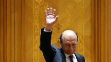 Das Amtsenthebungsverfahren gegen Präsident Basescu ist hoch umstritten.