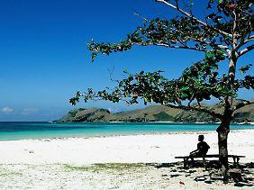 Strand auf Bali.