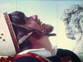 """Immer weiter, immer höher, die nächste """"Wand machen"""": Messners Blick ging immer nach oben (Bild von 1969)"""