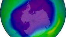 Ende September 2006 erreichte das Ozonloch über der Antarktis eine besonders große Ausdehnung: Es war 27,5 Millionen Quadratkilometer groß.