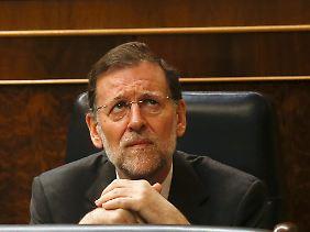 Der Ungeliebte in Madrid: Mariano Rajoy.