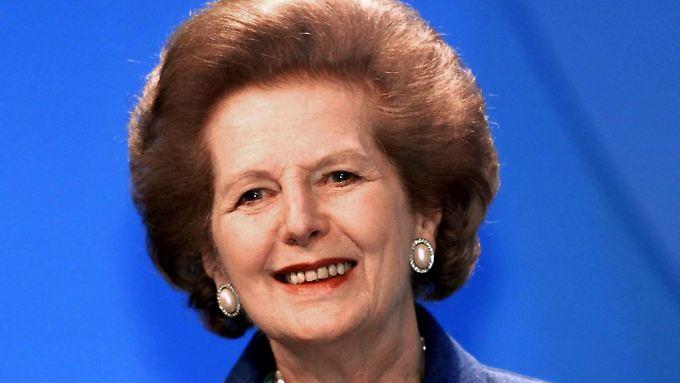 Thatcher war von 1979 bis 1990 Premierministerin.
