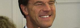 Mark Rutte von der Volkspartei für Freiheit und Demokratie (VVD) ist der strahlende Sieger der vorgezogenen Parlamentswahl in den Niederlanden.
