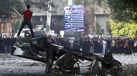 Aufgeheizte Stimmung in Kairo.