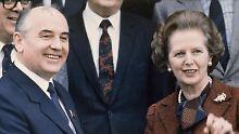 Geheime Dokumente freigegeben: Thatcher fand Gorbatschow charmant